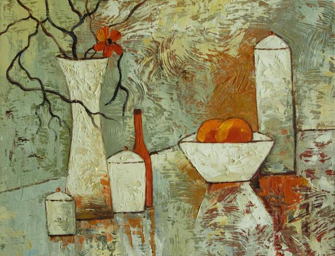 Cuadros modernos cuadros de bodegones Naturaleza muerta con frutas