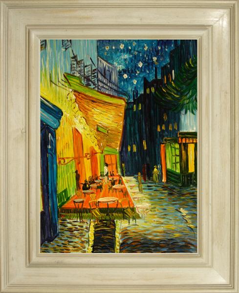 Cuadros Famosos De Van Gogh La Terraza Del Café Por La Noche Place Du Forum Arles