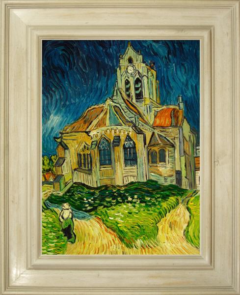 Cuadros famosos cuadros de van gogh con marco blanco la - Cuadros con marco blanco ...