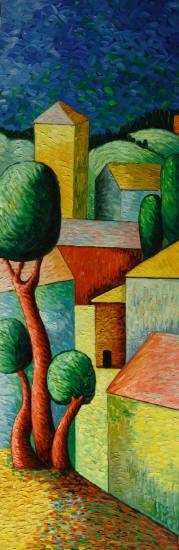 Cuadros abstractos cuadros modernos con paisajes - Cuadros abstractos paso a paso ...