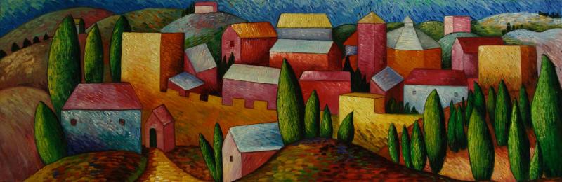 Cuadros abstractos cuadros modernos con paisajes for Laminas gigantes para pared