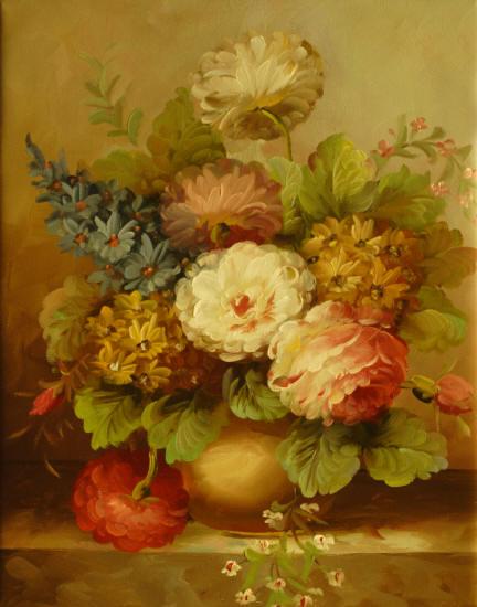 Cuadros modernos cuadros de flores y plantas iii ramo de - Ramos de flores modernos ...