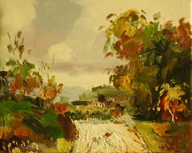 Cuadros modernos cuadros paisajes bosques rios lagos for Colgadores de cuadros