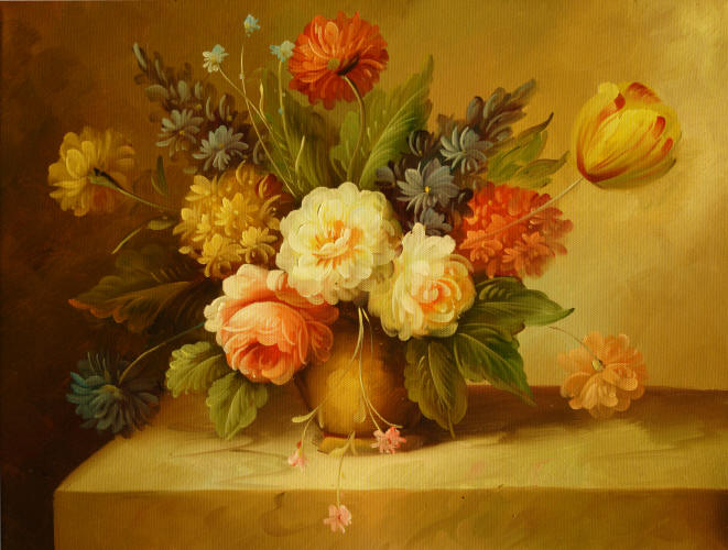 Cuadros Modernos Cuadros De Flores Y Plantas Xii Ramo De Flores En