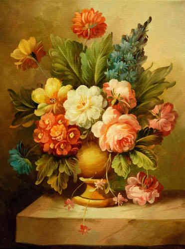 Cuadros modernos flores y plantas un toque clasico cuadros - Ramos de flores modernos ...