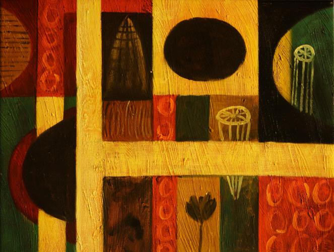 Figuras de cuadros abstractos imagui for Cuadros con formas geometricas