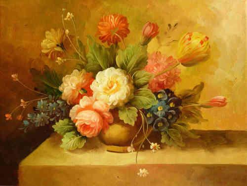 Cuadros modernos ramo de flores en jarrn xiii car - Ramos de flores modernos ...