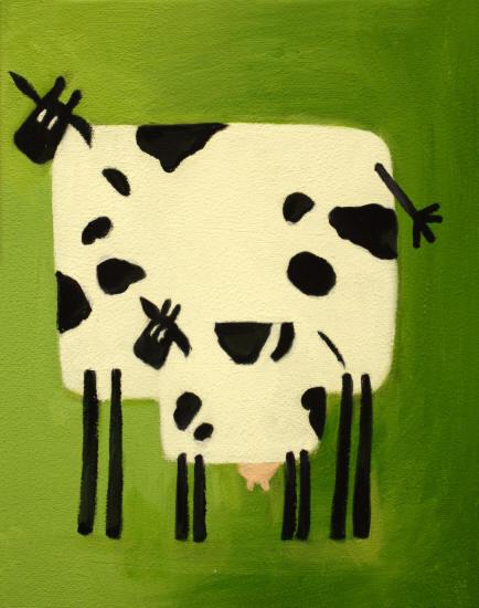 Pin cuadros modernos infantiles mama vaca con hijo on - Cuadros de vacas ...