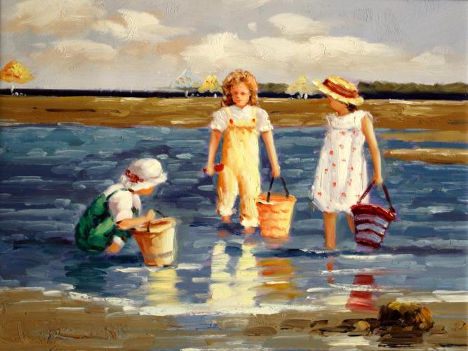 Pinturas modernas de marinas imagui for Cuadros de marinas