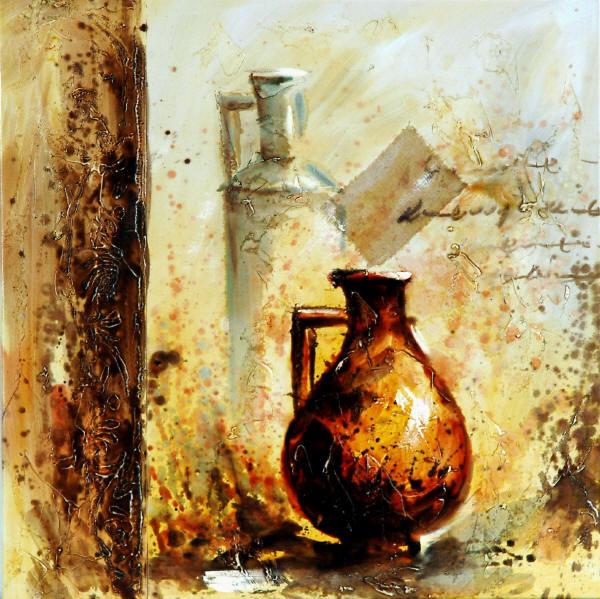 Cuadros modernos cuadros de bodegones ceramica romana - Cuadros bodegones modernos ...