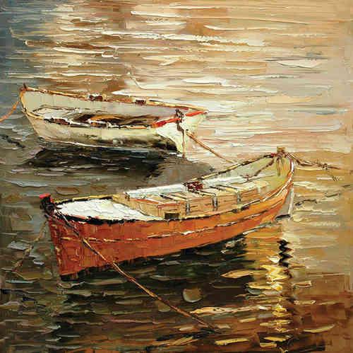 Cuadros modernos marinas barcas y veleros cuadros for Cuadros de marinas
