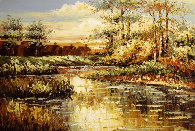 Oleos de paisajes oto ales imagui - Imagenes paisajes otonales ...