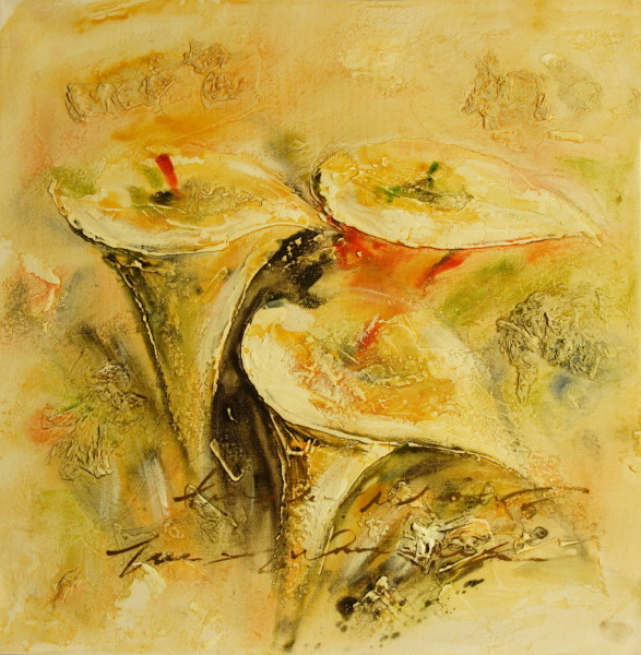 Cuadros modernos cuadros de flores y plantas dulzura - Colgadores de cuadros ...