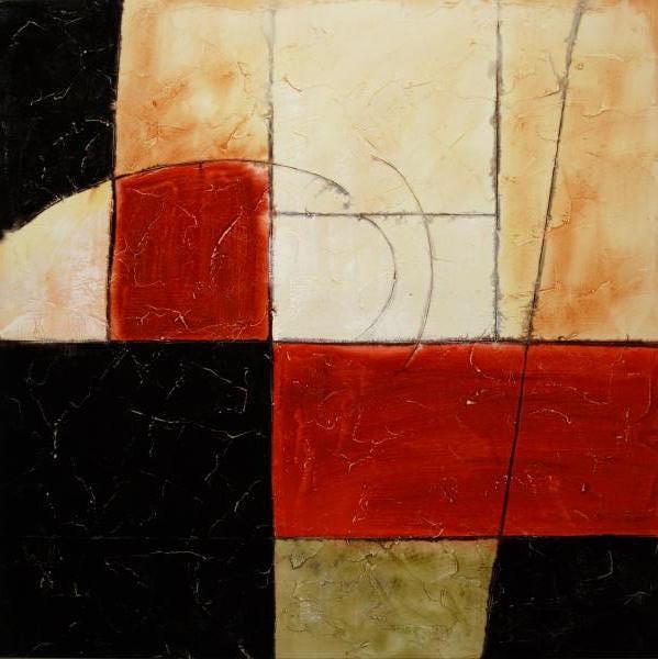 Cuadros abstractos cuadros modernos abstractos con for Cuadros con formas geometricas