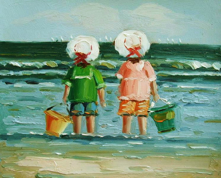 Cuadros modernos cuadros marinas vi coleccion ni os en - Cuadros abstractos para ninos ...