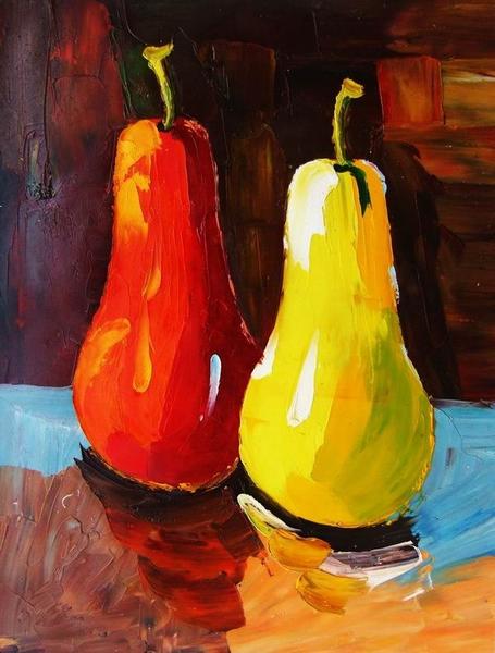 Cuadros modernos, cuadros de frutas y verduras, VI-Coleccion frutas