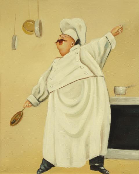 Cuadros modernos cuadros figurativos en la cocina - Cuadros figurativos modernos ...