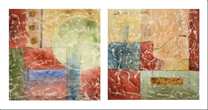 Cuadros Abstractos Cuadros Modernos Cuadros Dipticos Equilibrio