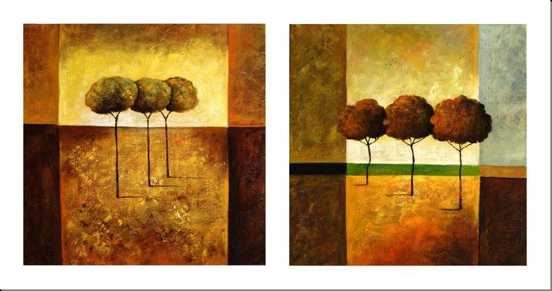 Cuadros modernos y abstractos cuadro para salon moderno en - Cuadros clasicos para salon ...