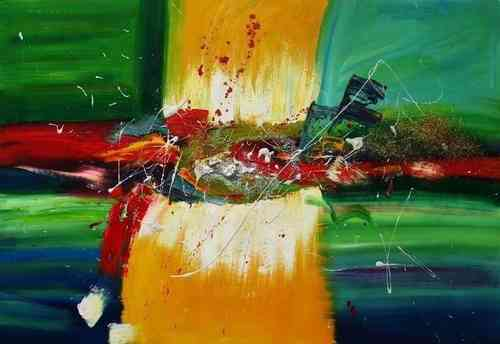 Cuadros abstractos cuadros modernos abstractos for Imagenes de cuadros abstractos geometricos