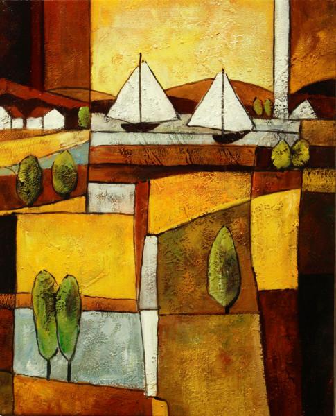 Cuadros modernos cuadros marinas modernas i veleros en for Colgadores de cuadros