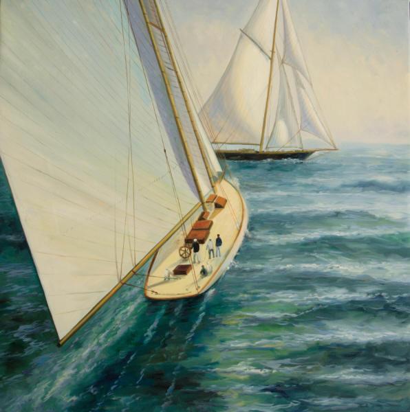 cuadros modernos cuadros marinas modernas regatas de veleros On veleros modernos