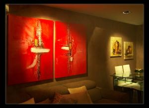 Cuadros modernos cuadros decoracion moderna salon y - Cuadros clasicos para salon ...